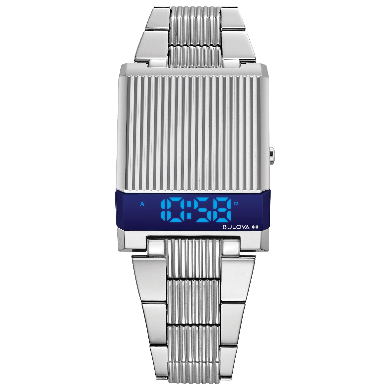 Bulova LED Computron Digital Men's Watch