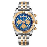 Breitling Chronomat 44 Steel and Gold Chronograph Men's Watch
