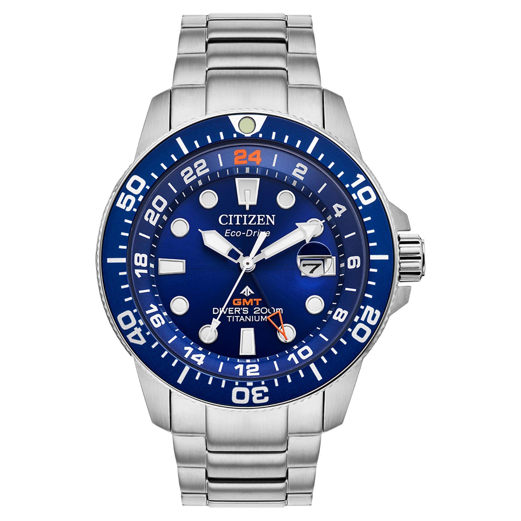 Citizen Promaster Diver GMT Super Titanium Men's Watch