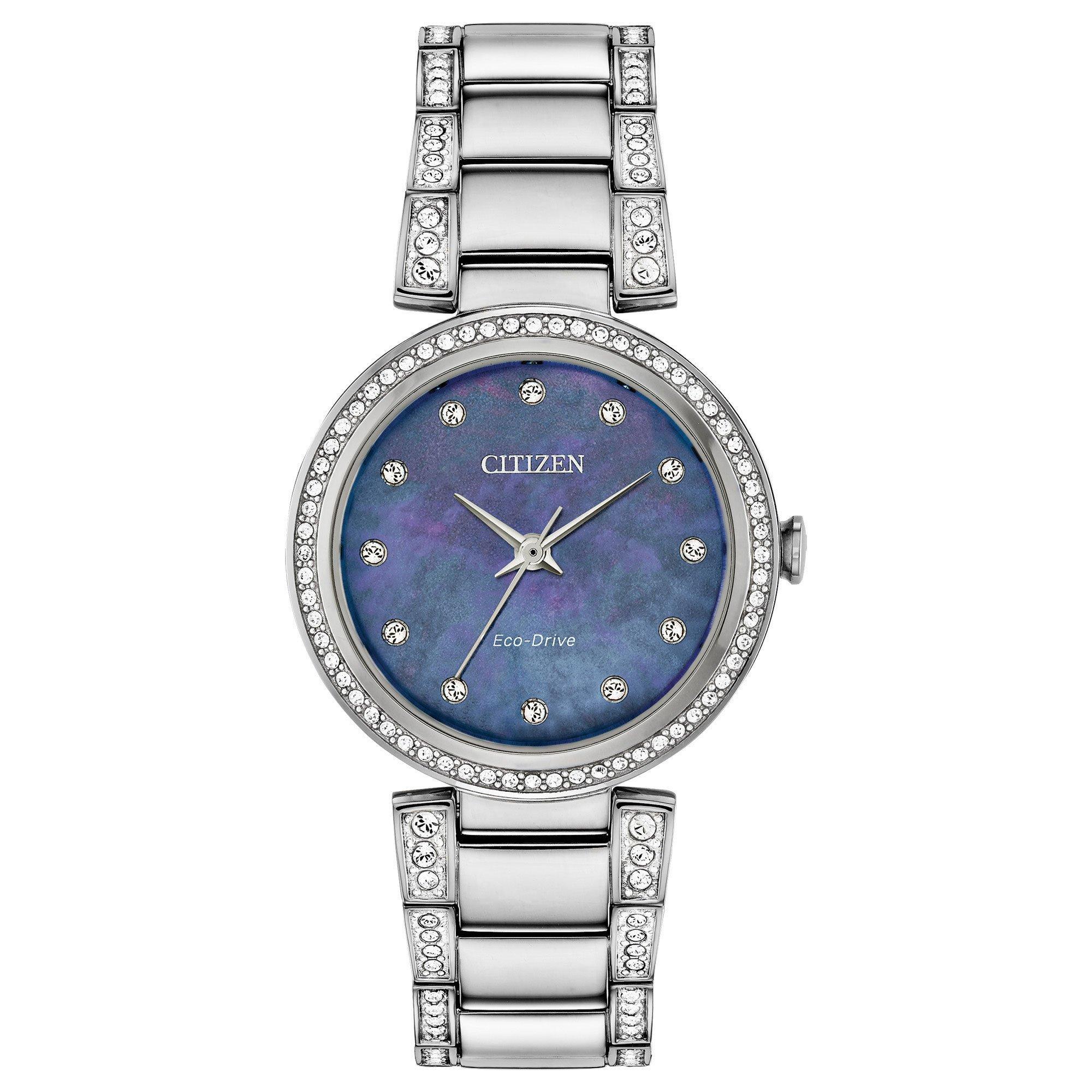 Citizen Silhouette Crystal Ladies Watch
