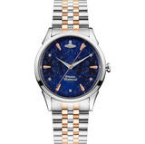 Vivienne Westwood Wallace Steel and Rose Gold Tone Ladies Watch