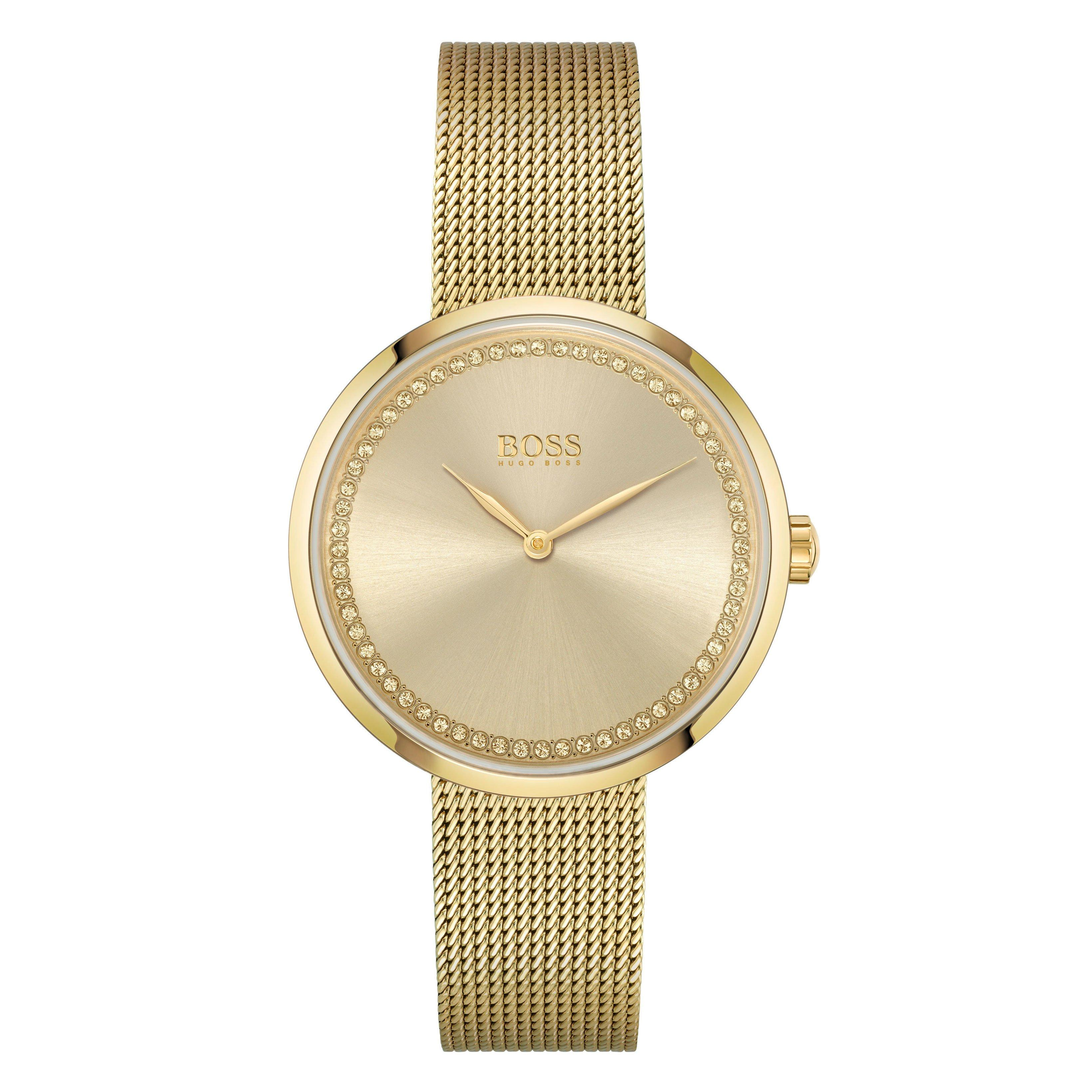 BOSS Praise Gold Tone Ladies Watch