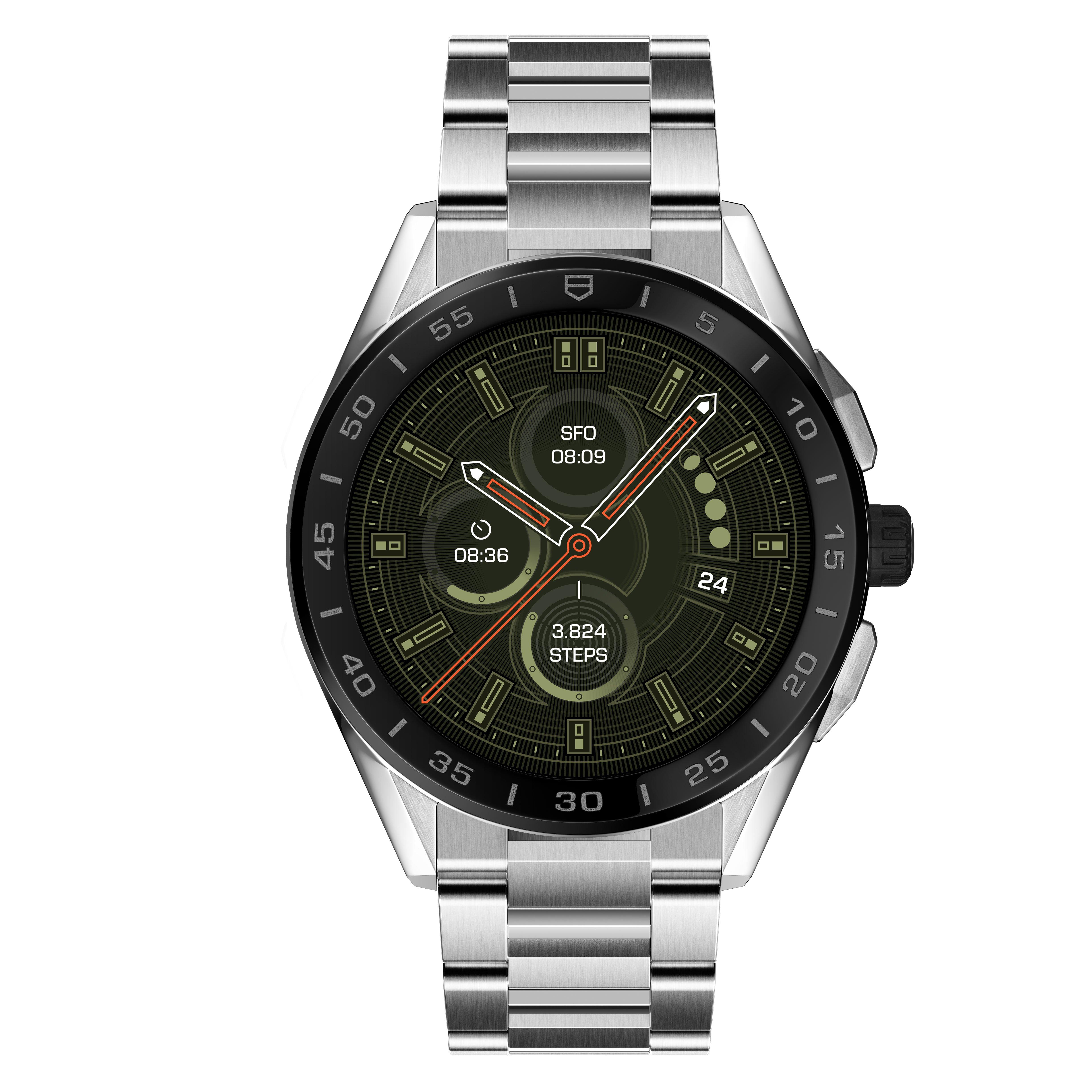 TAG Heuer Connected 2020 Steel and Black Ceramic Smartwatch