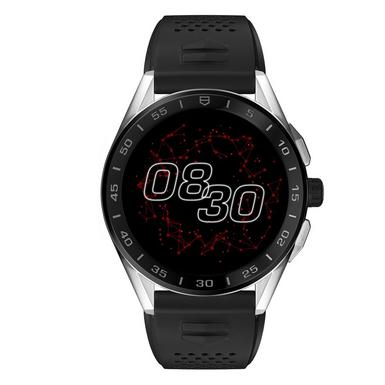 TAG Heuer Connected 2020 Steel and Black Ceramic Rubber Smartwatch