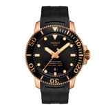 Tissot Seastar 1000 Rose Gold Plated Powermatic 80 Men's Watch