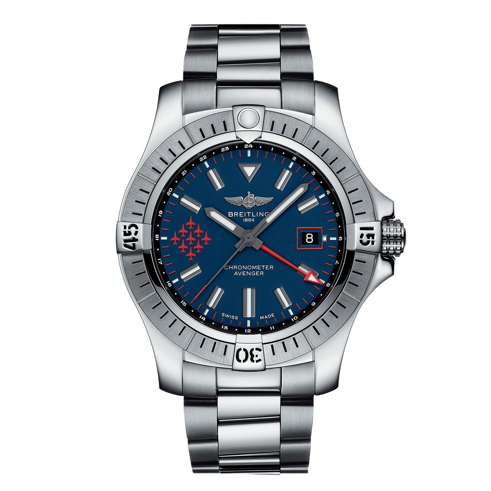 Breitling Avenger Automatic GMT 45 Red Arrows Limited Edition Men's Watch