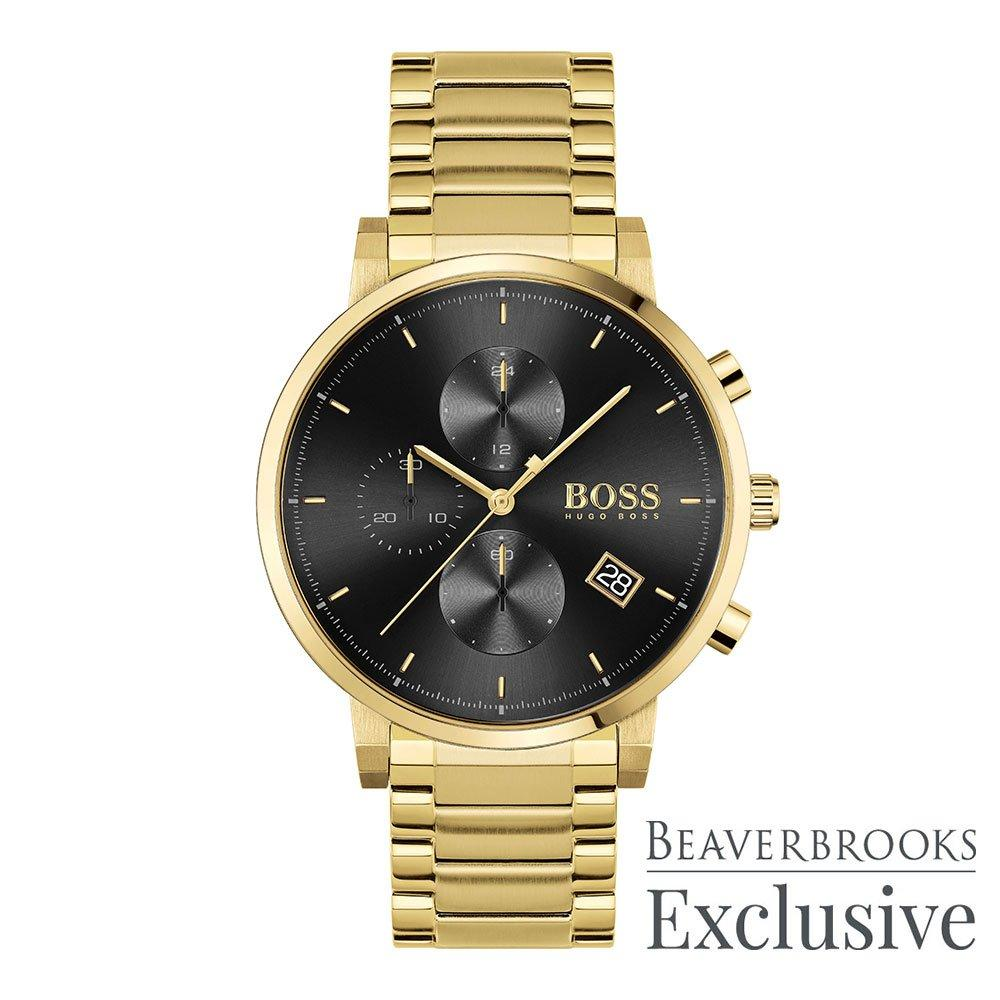 BOSS Integrity Exclusive Gold Tone Chronograph Men's Watch