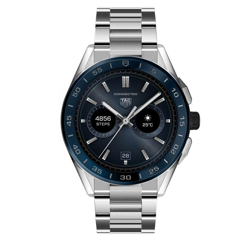 TAG Heuer Connected 2020 Steel and Blue Ceramic Smartwatch