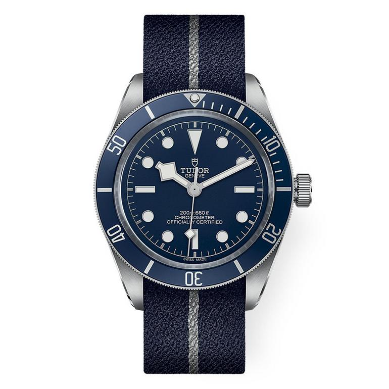 TUDOR Heritage Black Bay Fifty-Eight Navy Blue Automatic Fabric Men's Watch