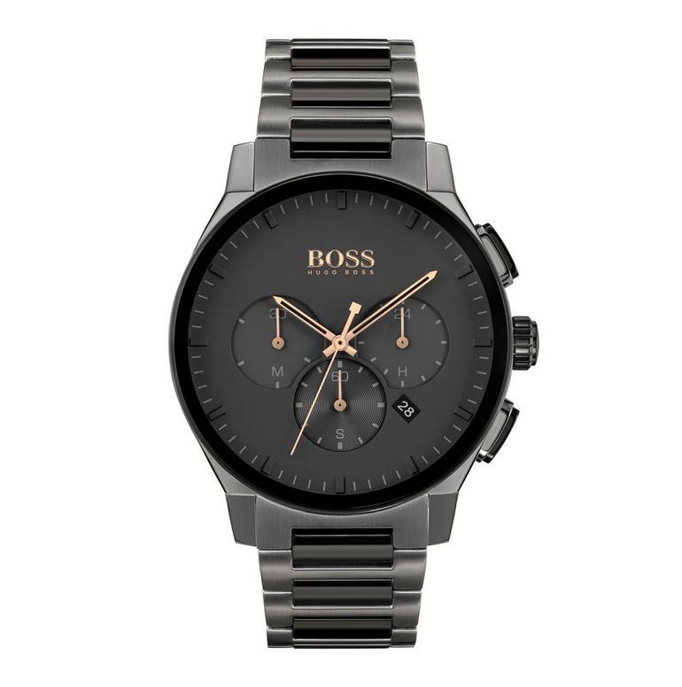 BOSS Peak Grey Ion Plated Men's Watch