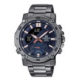 Casio Edifice Black Ion Plated Men's Watch