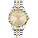 Vivienne Westwood Seymour Steel and Gold Plated Men's Watch
