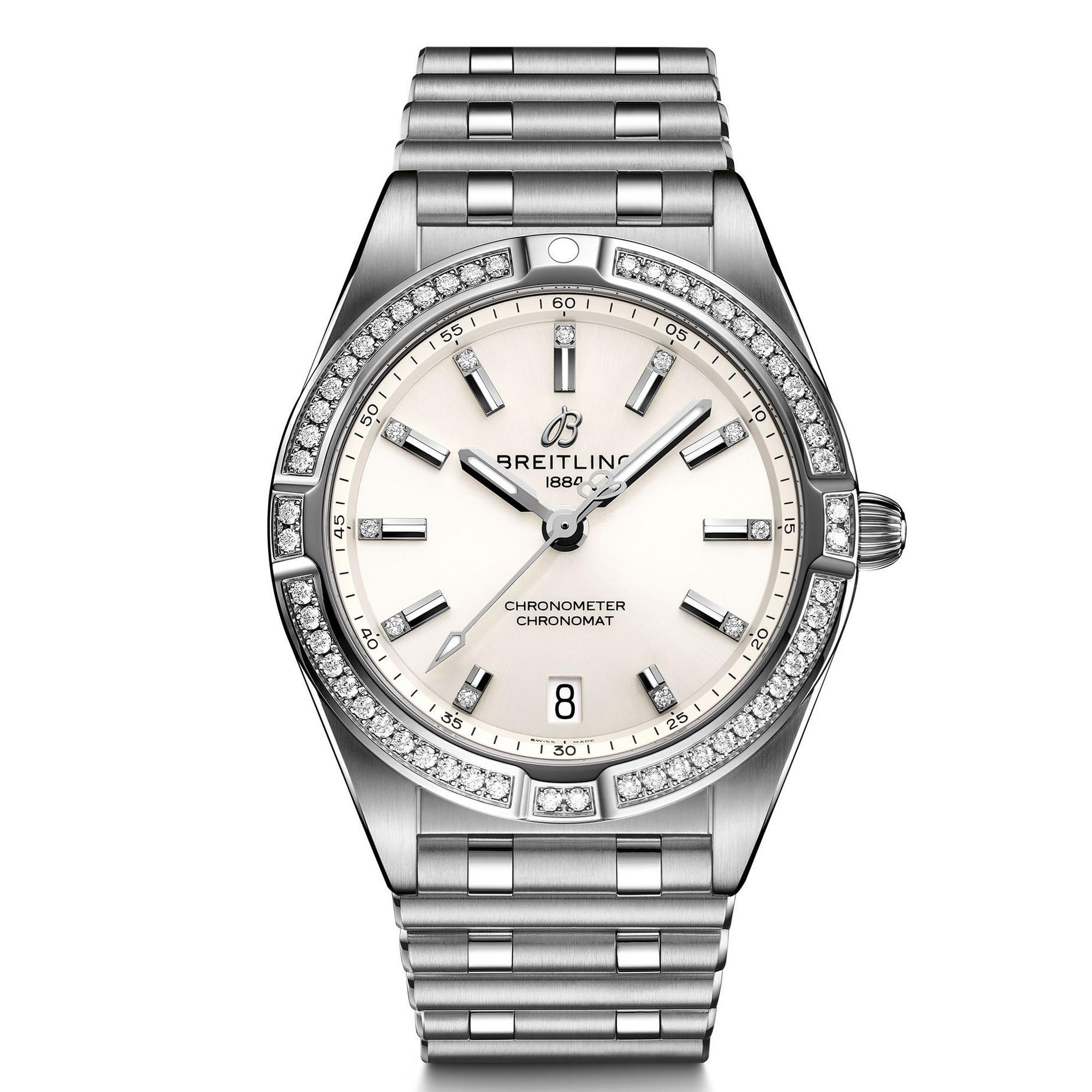 Breitling Chronomat Diamond Ladies Watch