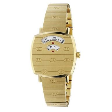 Gucci Grip Gold PVD Watch
