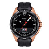 Tissot T-Touch Connect Solar Rose Gold Tone Titanium Men's Watch