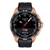 Tissot T-Touch Connect Solar Rose Gold Tone Titanium Men's Watch