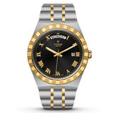 Tudor Royal Steel and 18ct Gold Automatic Men's Watch