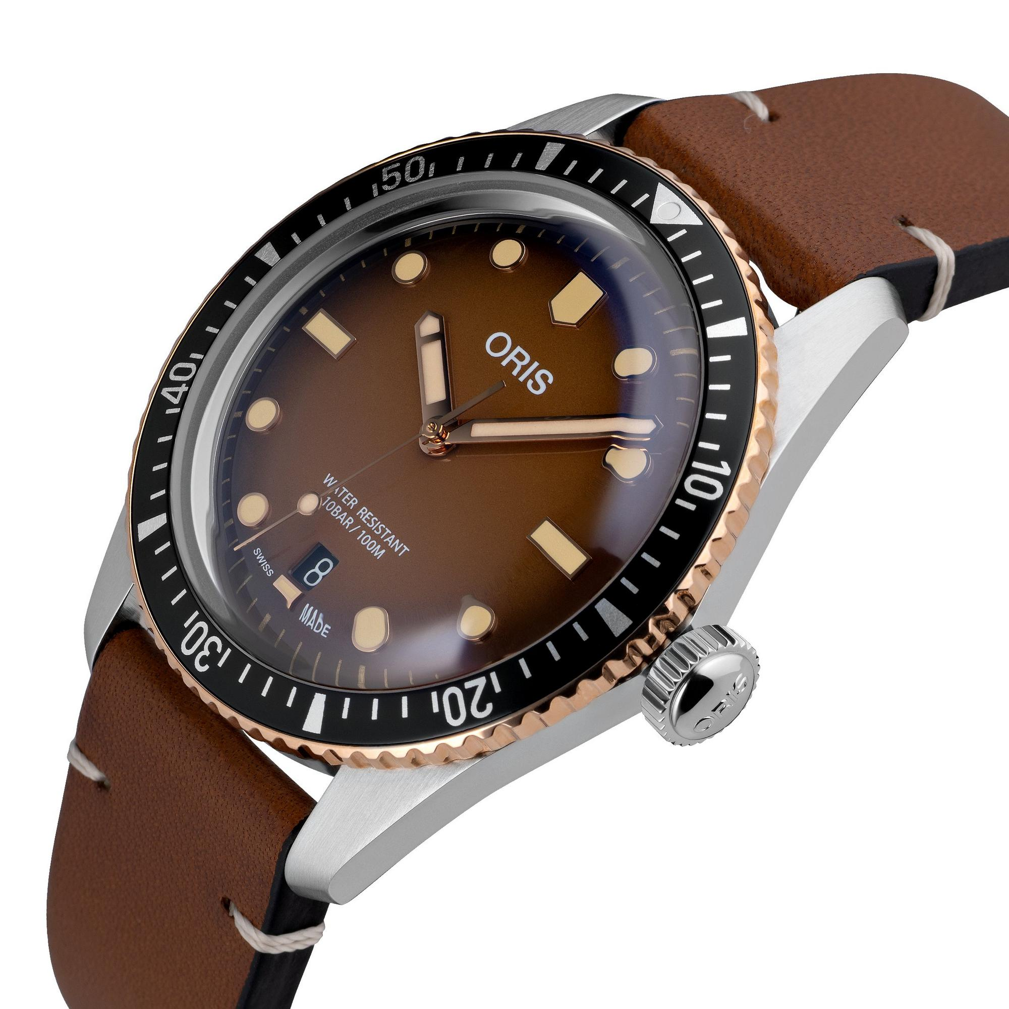 Oris Divers Sixty-Five Bronze Automatic Men's Watch