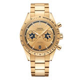 OMEGA Speedmaster '57 Rory McIlroy Special Edition 18ct Gold Co-Axial Chronometer Chronograph Men's Watch