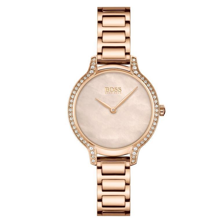 BOSS Gala Rose Gold Tone Ladies Watch