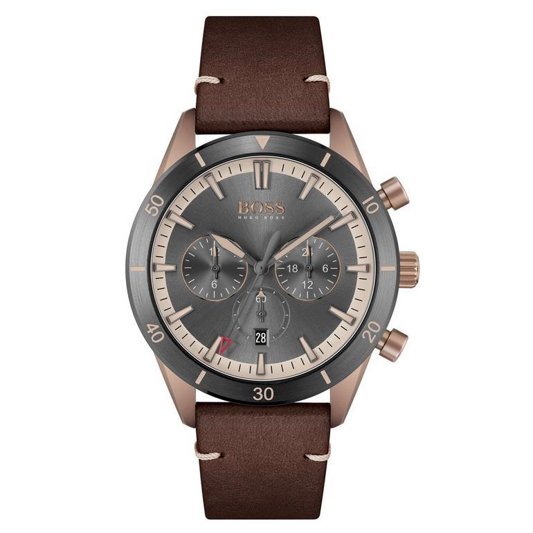 BOSS Santiago Bronze Chronograph Men's Watch