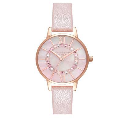 Olivia Burton Sparkle Wonderland Pink Ladies Watch