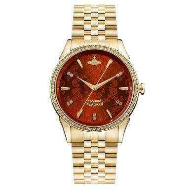 Vivienne Westwood Wallace Gold Plated Ladies Watch
