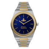 Vivienne Westwood Limehouse Steel and Gold Plated Men's Watch