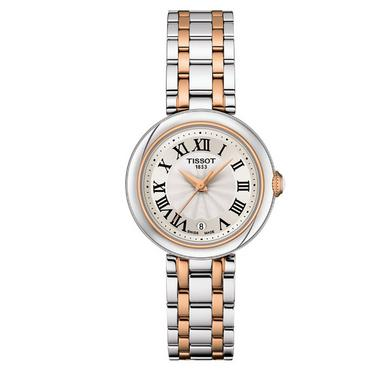 Tissot T-Lady Bellissima Steel and Rose Gold Plated Small Ladies Watch