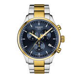 Tissot T-Classic Chrono XL Classic Steel and Gold Plated Men's Watch