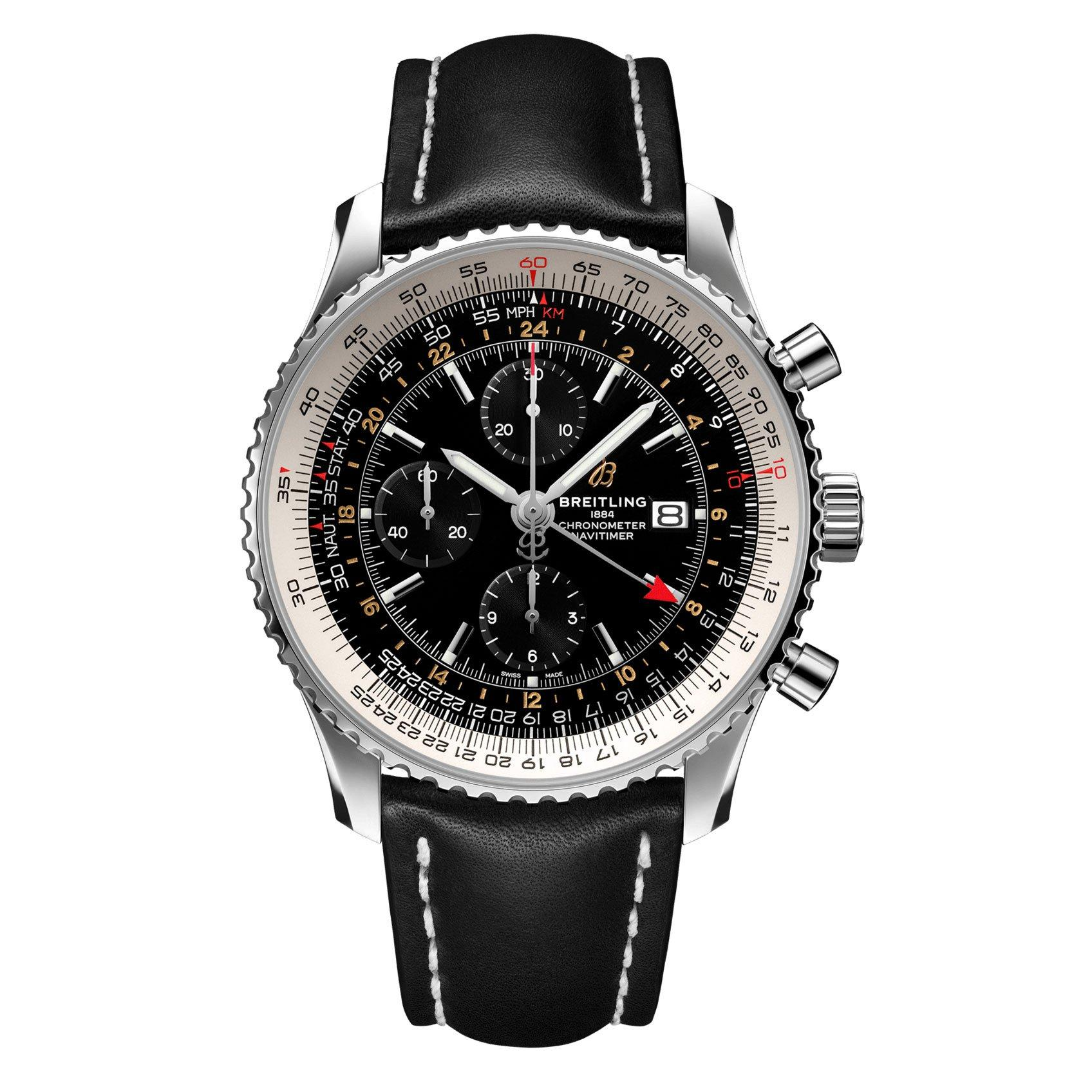 Breitling Navitimer World 46 Automatic Chronograph Men's Watch