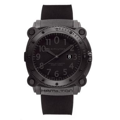Hamilton Khaki BeLOWZERO Ion Plated Men's Watch