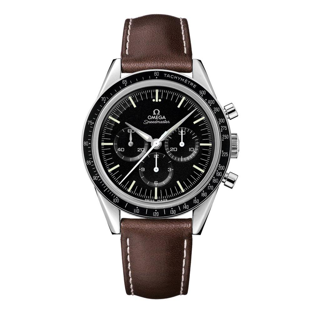OMEGA Speedmaster Moonwatch 'First Omega In Space' Automatic Chronograph Men's Watch