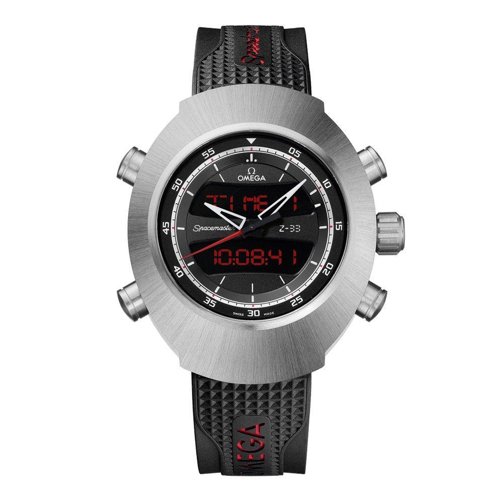 OMEGA Speedmaster Spacemaster Z-33 Titanium Digital Chronograph Men's Watch