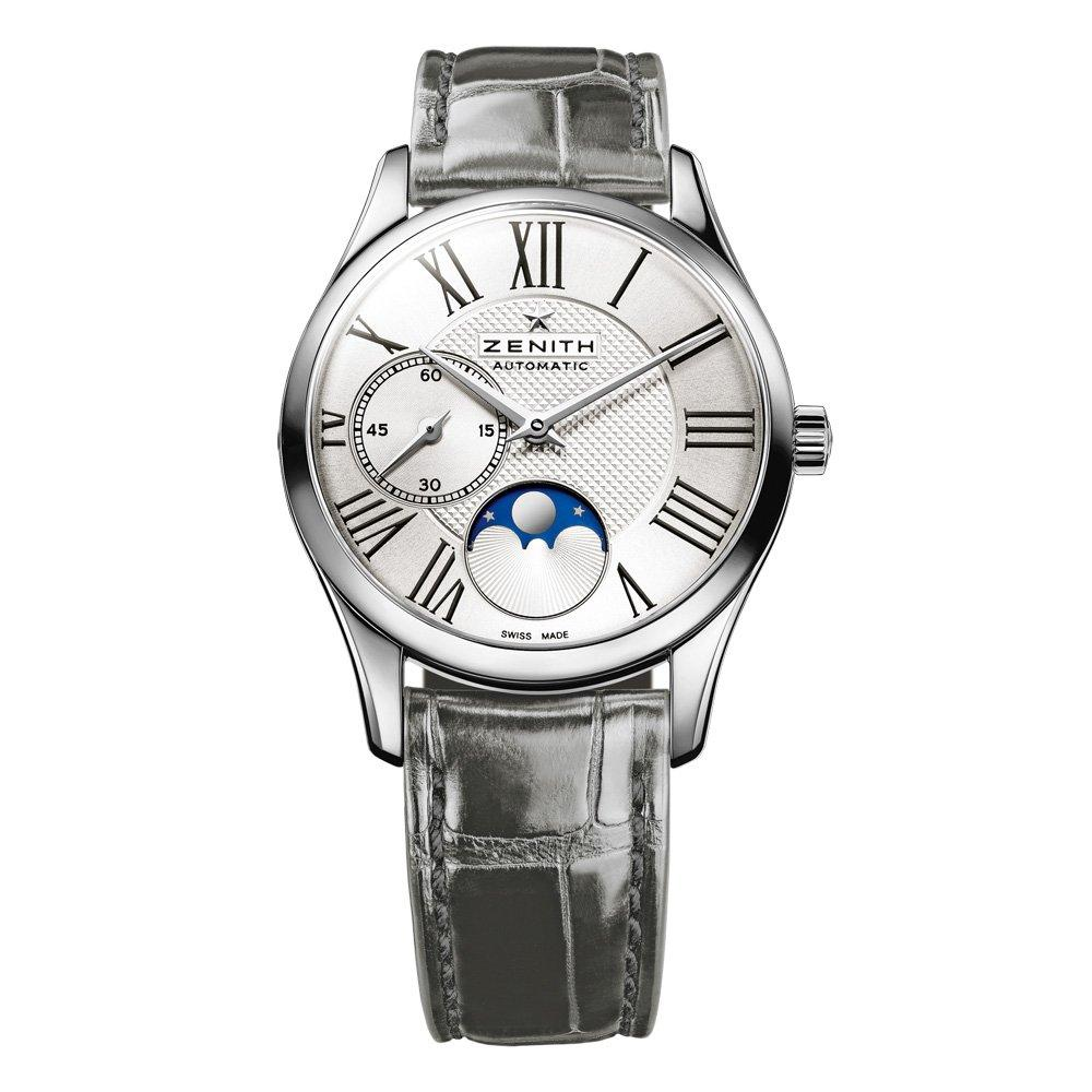 Zenith Elite Ultra Thin Moonphase Automatic Ladies Watch