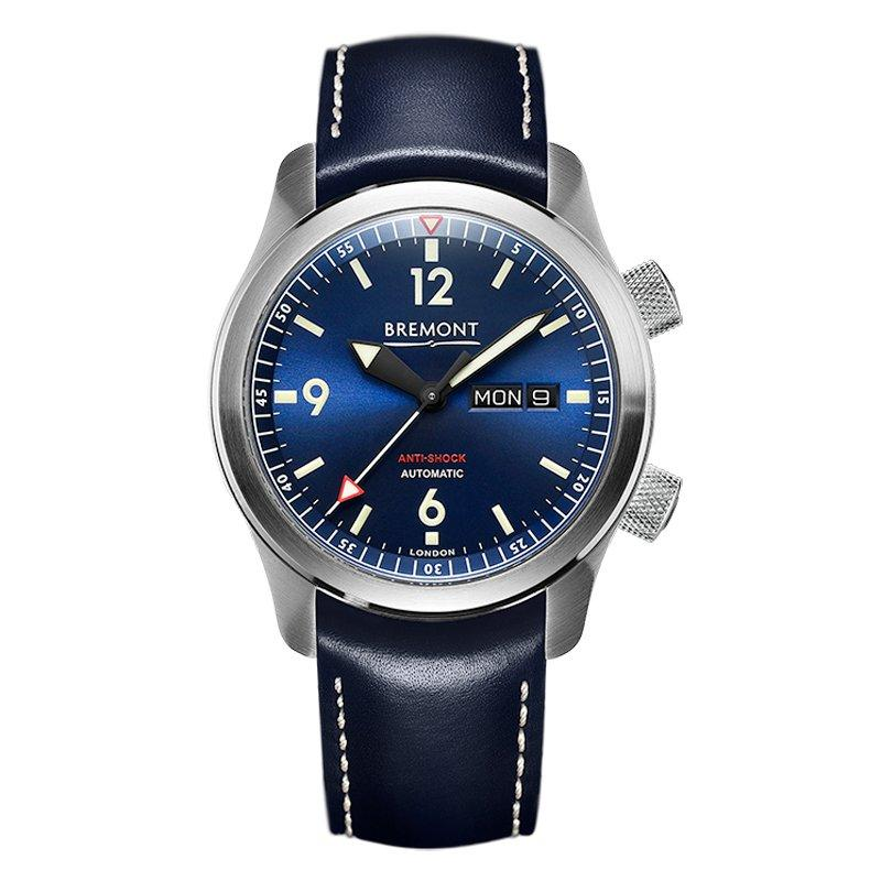 Bremont U-2 Blue Automatic Chronometer Men's Watch