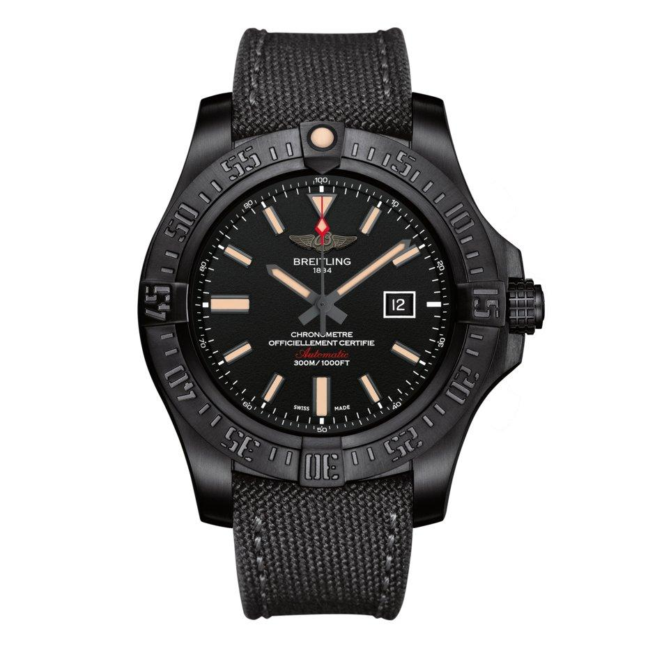 Breitling Avenger Blackbird Titanium Automatic Men's Watch