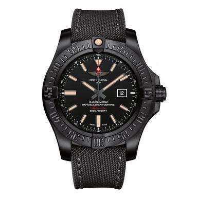 Breitling Avenger Blackbird Titanium Automatic Men's Watch