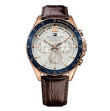 Tommy Hilfiger Luke Rose Tone Chronograph Men's Watch