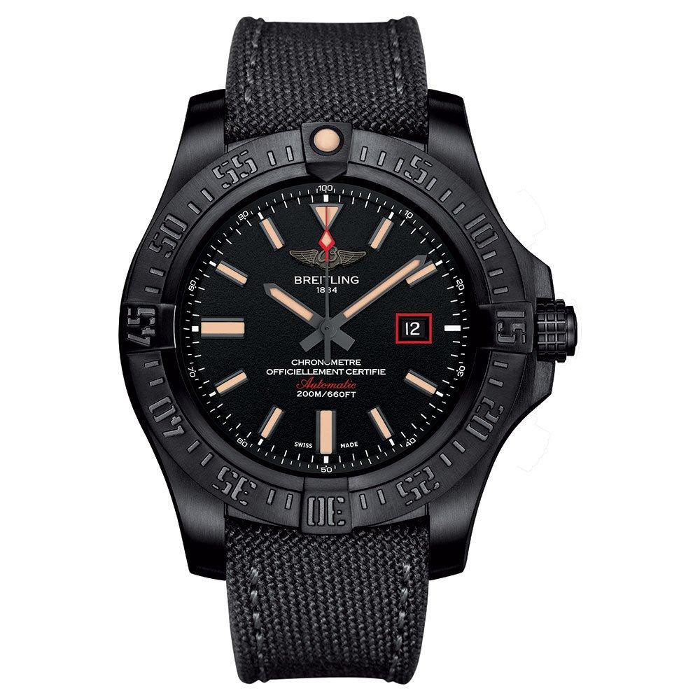 Breitling Avenger Blackbird 44 Titanium Automatic Men's Watch