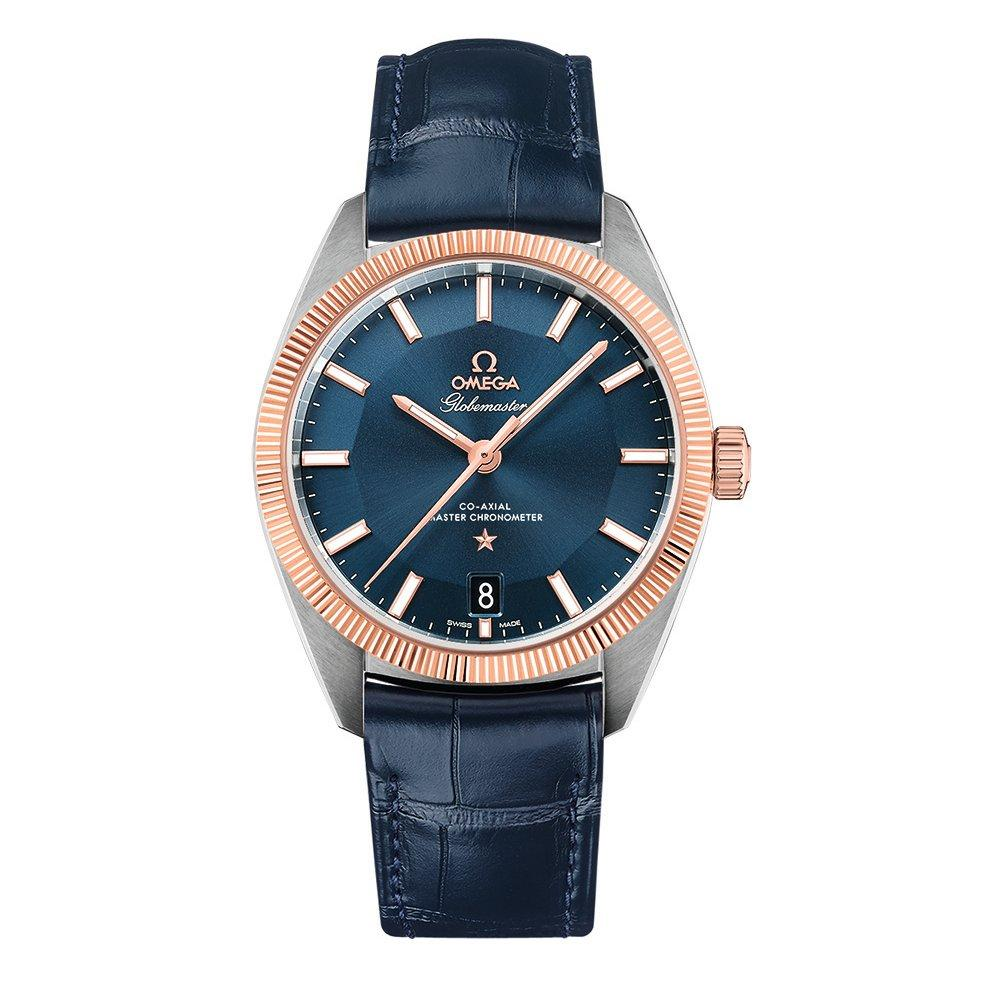 OMEGA Constellation Globemaster Steel and 18ct Sedna Gold Automatic Chronometer Men's Watch