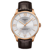 Tissot Chemin Des Tourelles Rose Gold Tone Automatic Men's Watch