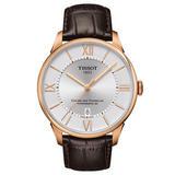 Tissot Chemin Des Tourelles Rose Gold Tone Automatic Men's Watch
