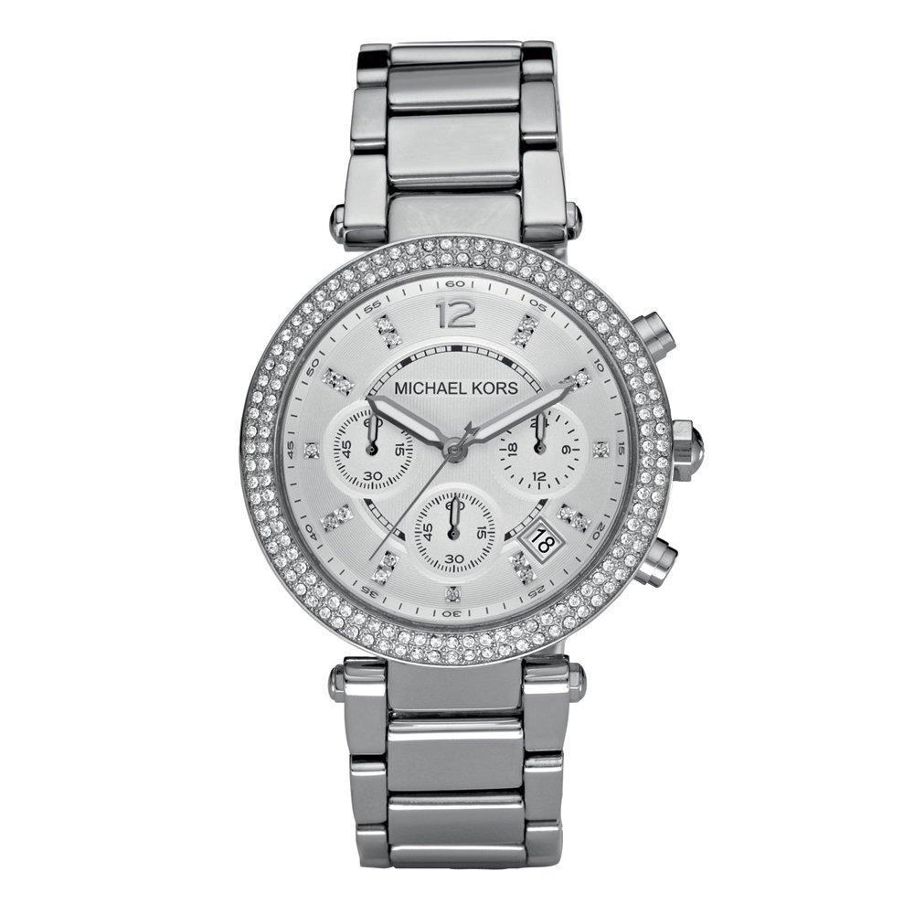 Michael Kors Parker Glitz Chronograph Ladies Watch