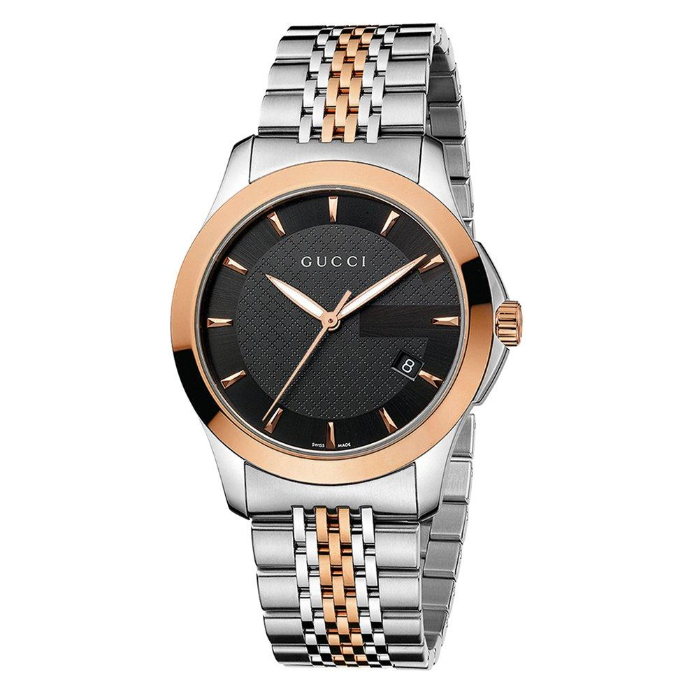 Gucci G-Timeless Rose Gold Plated Men's Watch