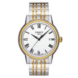 Tissot Carson Gold Plated and Stainless Steel Men's Watch