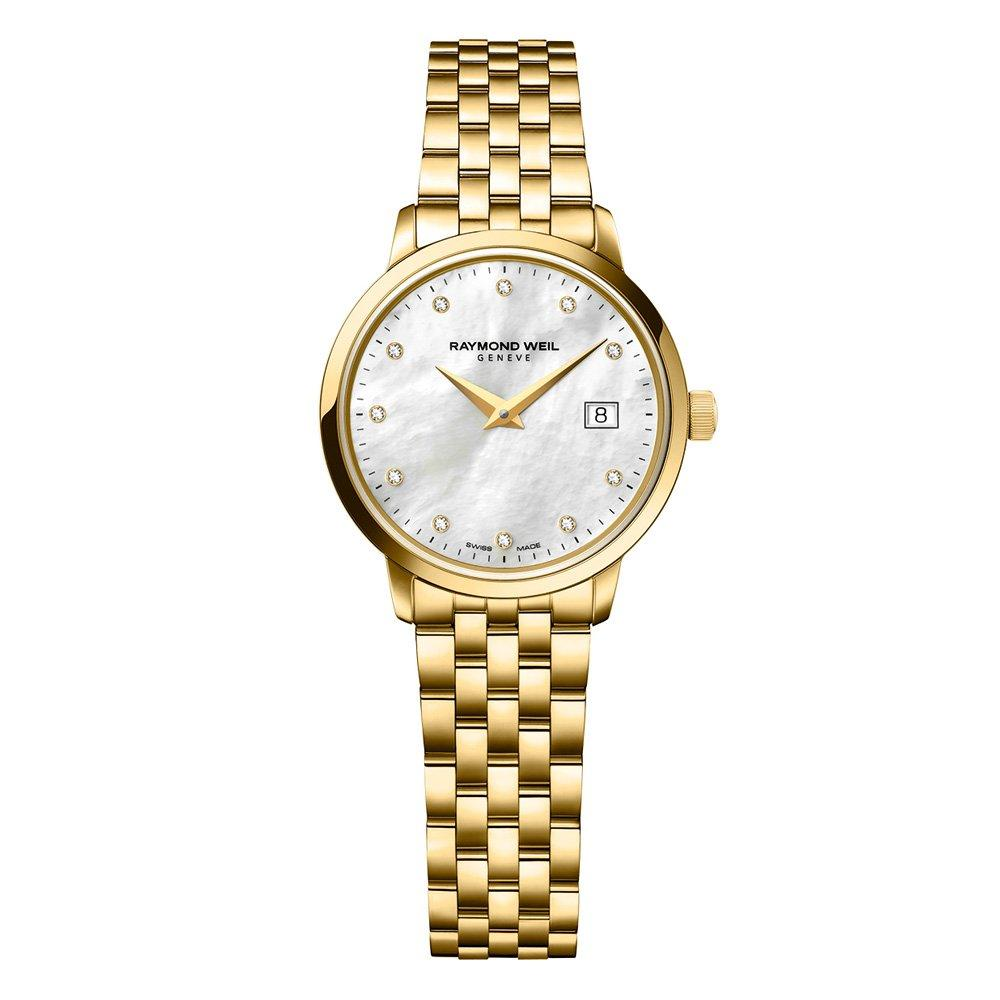 Raymond Weil Toccata Gold Plated Diamond Ladies Watch