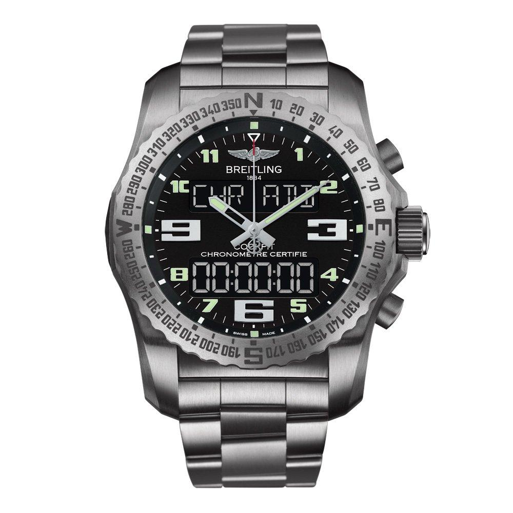 Breitling Professional Cockpit B50 Titanium Chronograph Men's Watch
