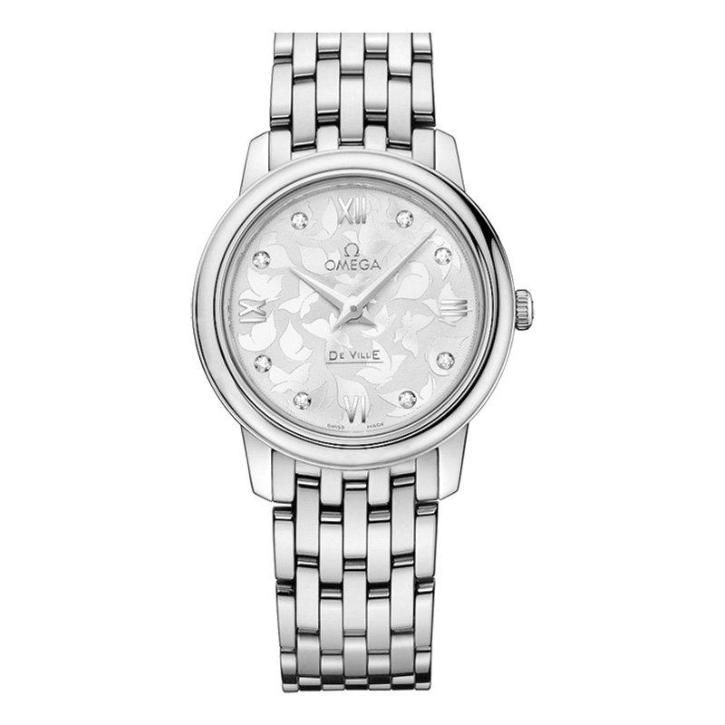 OMEGA De Ville Prestige Butterfly Diamond Ladies Watch