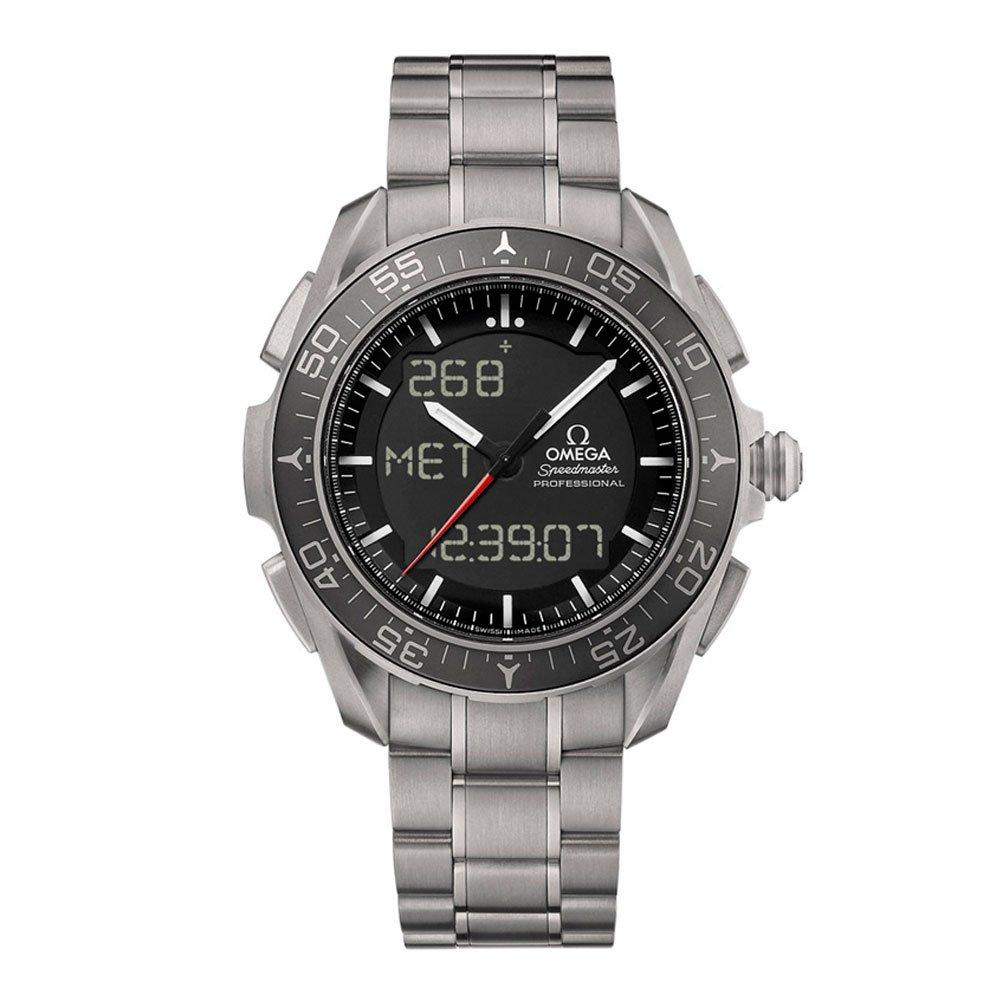 OMEGA-Speedmaster-Skywalker-X33-Automatic-Digital-Titanium-Chronograph-Mens-Watch-318.90.45.79.01.001-45-mm-Black-Dial